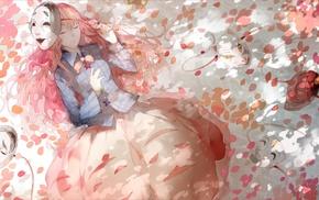 Touhou, Hata no Kokoro, petals