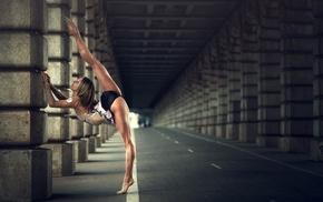 girl, ballet, sports