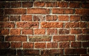 building, walls, orange, texture, bricks, architecture