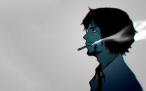 Zankyou no Terror, smoking, Shibazaki