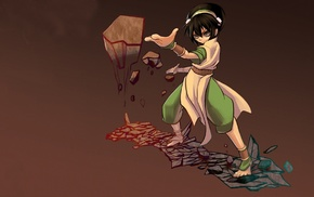 Toph Beifong, Avatar The Last Airbender, artwork