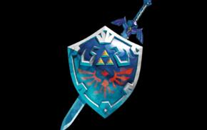 Link, Master Sword, sword, The Legend of Zelda, video games