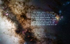 quote, stars, space, philosophy, Friedrich Nietzsche, universe