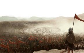 Kingdom of Heaven, video games, movies, army, war