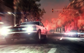 race cars, Ford Mustang, Grid 2