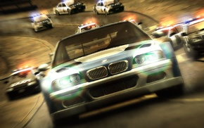 video games, BMW, car, Need for Speed, Need for Speed Most Wanted