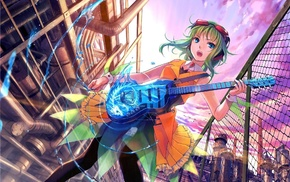 anime girls, Vocaloid, Megpoid Gumi