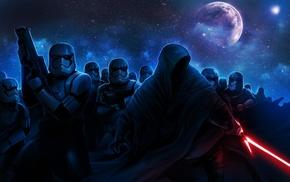 artwork, Sith, stormtrooper, Star Wars, science fiction