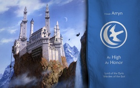 The Eyrie, Game of Thrones, castle, House Arryn
