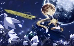 Mahou Shoujo Lyrical Nanoha, anime girls, Fate Testarossa