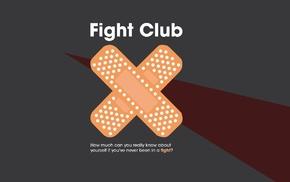 Fight Club, movies, artwork