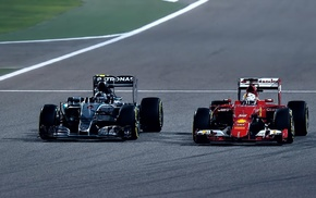 Nico Rosberg, Formula 1, Sebastian Vettel, Mercedes F1