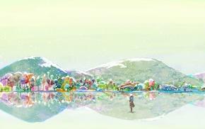mountain, Mushishi, Ginko Mushishi