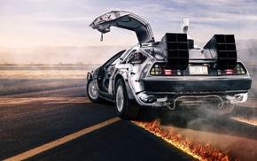 Back to the Future, DeLorean, car