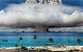 nature, water, bombs, nuclear