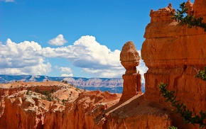 rock, nature, Bryce Canyon National Park, rock formation, landscape