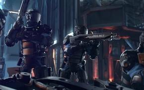 police, video games, cyberpunk, Cyberpunk 2077, Polish