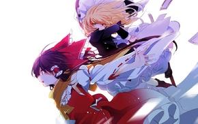 Hakurei Reimu, Touhou, Kirisame Marisa, anime