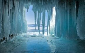 cave, ice