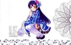 Sonoda Umi, anime girls, Love Live, long hair