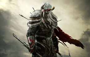 The Elder Scrolls Online, The Elder Scrolls, warrior, video games, fantasy art