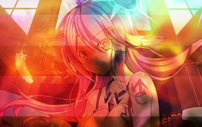 anime, Jibril, No Game No Life, anime girls