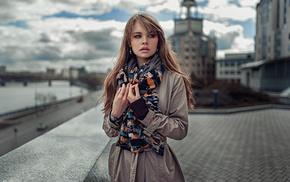 girl, Anastasia Scheglova, Russia, Georgiy Chernyadyev, auburn hair, model