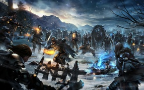 white walkers, fantasy art, Game of Thrones, video games, warrior