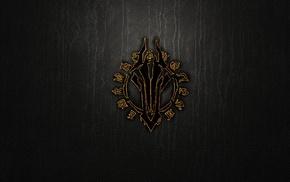 Darksiders, minimalism, logo