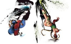 Chun, Li, Cammy, Street Fighter
