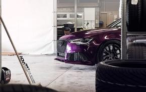 audi quattro, ADV.1, ADV.1 Wheels, RS6, Quattro, purple