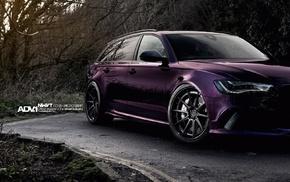 purple, RS6, ADV.1 Wheels, Quattro, ADV.1, Audi RS4 Avant