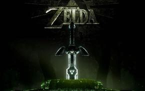 The Legend of Zelda, sword, Master Sword, video games