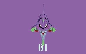 mech, EVA Unit 01, Neon Genesis Evangelion