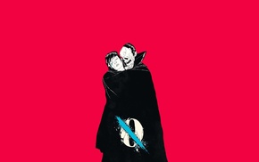 Queens of the Stone Age, pink, album covers