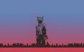 pink, Hotline Miami, video games, 8, bit