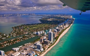 cityscape, Miami, city