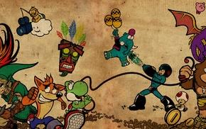 Pokmon trainers, Nintendo, Mega Man