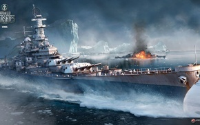 World of Warships, World War II, video games