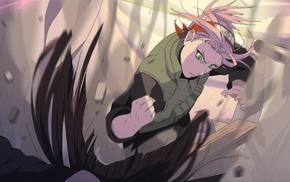Kunoichi, Haruno Sakura, Naruto Shippuuden, anime girls, green eyes, pink hair