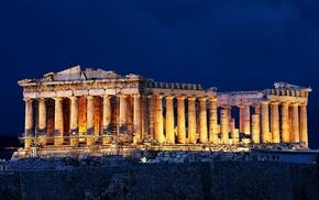 Athens, Greece, acropolis, Parthenon