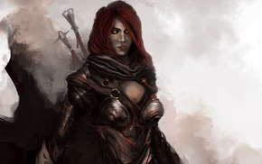 Black Widow, fantasy art