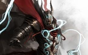 fantasy art, Thor