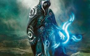 fantasy art, Magic The Gathering, blue