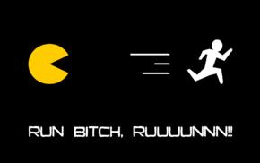 writing, minimalism, Pacman