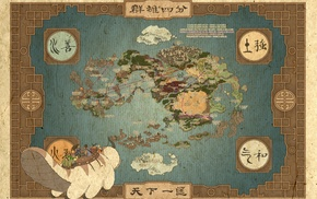 Avatar The Last Airbender, map