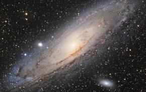 galaxy, universe, planet, spiral galaxy, space
