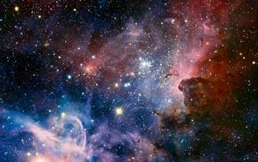 space, nebula, stars, Carina Nebula
