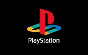 logo, video games, PlayStation