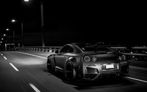 Nissan GTR, Liberty Walk, Nissan Skyline GT, R R35, tuning